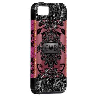 Victorian de Caradythe Monet duro iPhone 5 Carcasas