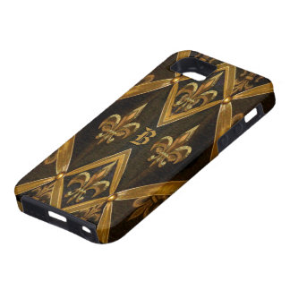 Victorian de Grachea duro Funda Para iPhone SE/5/5s