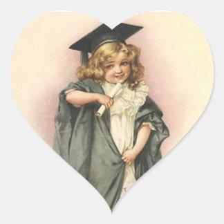 Victorian de las muñecas de los rosas de la pegatina en forma de corazón