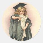 Victorian de las muñecas de los rosas de la etiqueta redonda