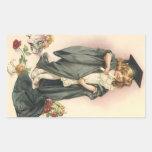 Victorian de las muñecas de los rosas de la rectangular altavoz