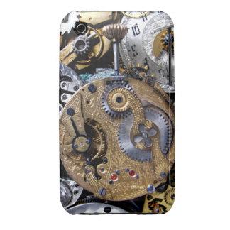Victorian de lujo Pocketwatch Funda Para iPhone 3