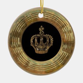 Victorian de Royalee Boleyn Adorno Navideño Redondo De Cerámica