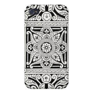 Victorian Decorative Design Pattern iPhone 4/4S Cover