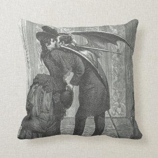 Victorian del beso del vampiro/almohada decorativa