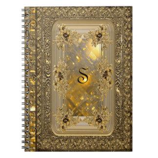 Victorian del espejismo de Vanfleet Libros De Apuntes Con Espiral
