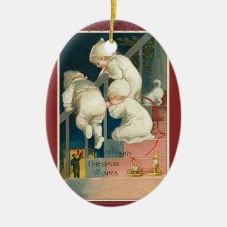 Victorian del vintage del ornamento del navidad adorno para reyes