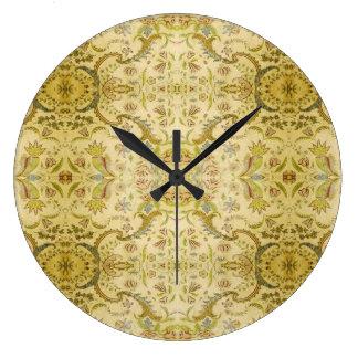 Victorian del vintage reloj redondo grande