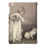 Victorian del vintage y lindo: Aquí gatito, gatito