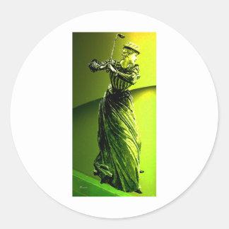 VICTORIAN DETERMINISM.jpg Round Sticker