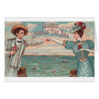 Victorian Distance Romance Valentine's Day Card