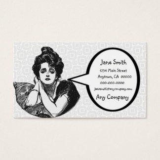 Victorian Diva Business Card