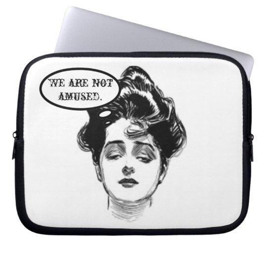 Victorian Diva Humor Computer Sleeve