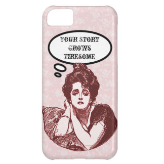 Victorian Diva Humor iPhone 5C Cover