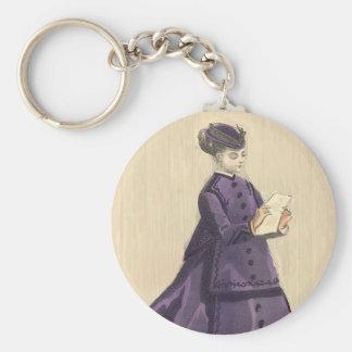 Victorian Dress Keychain