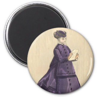 Victorian Dress Magnet