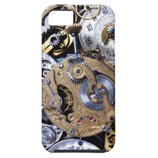 ¡Victorian duro Pocketwatch de Steampunk con los Funda Para iPhone SE/5/5s