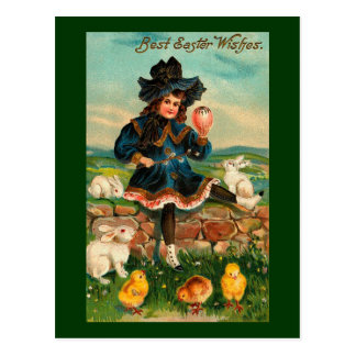 Victorian Easter Card Postcards