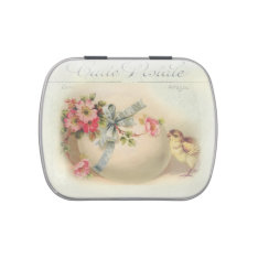 Victorian Easter chic and egg Jelly Belly Tin at Zazzle