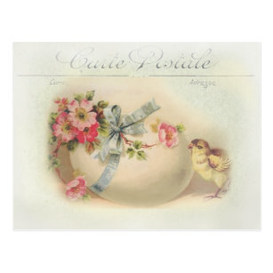 Victorian french easter gifts on zazzle victorian easter chic and egg postcard negle Gallery