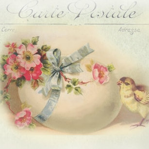 Victorian french easter gifts on zazzle victorian easter chic and egg throw pillow negle Gallery