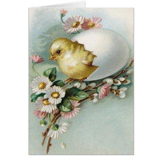 Victorian Easter Ephemera Card