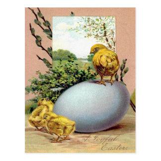 Victorian Easter Ephemera Postcard