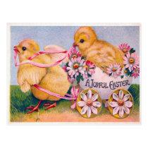 Victorian Easter Postcard