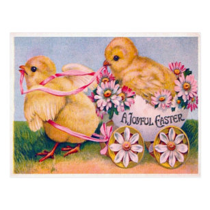Victorian easter gifts on zazzle victorian easter postcard negle Gallery