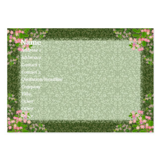 Victorian Elegance Profile Card Large Business Cards (Pack Of 100)