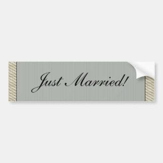 Victorian Elegance Wedding  Bumper Sticker