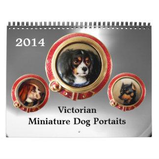 VICTORIAN ENAMELS /MINIATURE DOG PORTRAITS 2017 CALENDAR