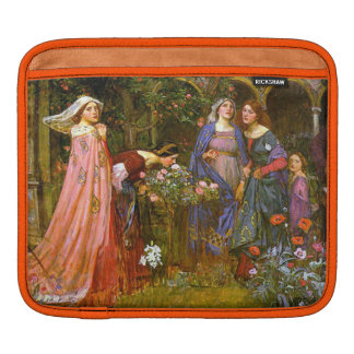 Victorian Enchanted Garden Sleeve For iPads