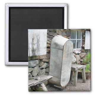 VICTORIAN ENGLAND 2 INCH SQUARE MAGNET
