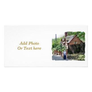 VICTORIAN ENGLAND PHOTO GREETING CARD