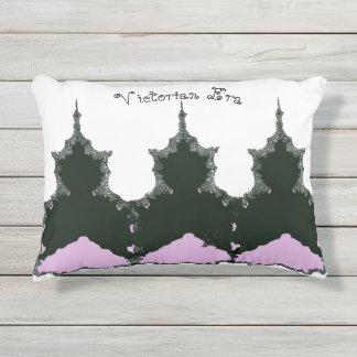 Victorian-Era_Abstract-Queen's(c) Vintage_ Outdoor Pillow