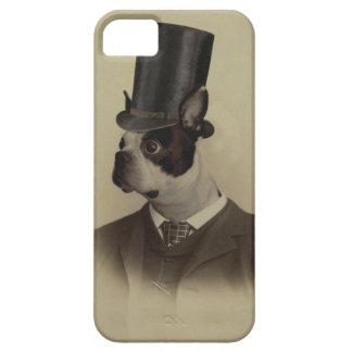 Victorian era boston terrier iPhone SE/5/5s case