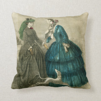 Victorian Era Pillows : Parisienne Pillows - Decorative & Throw Pillows Zazzle