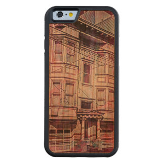 Victorian Era for a city dream MissionDistrict sfc Carved Cherry iPhone 6 Bumper Case
