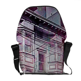 Victorian Era for a city dream MissionDistrict sfc Courier Bags