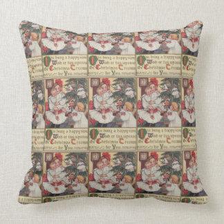 Victorian Era Pillows : Victorian Christmas Pillows - Decorative & Throw Pillows Zazzle