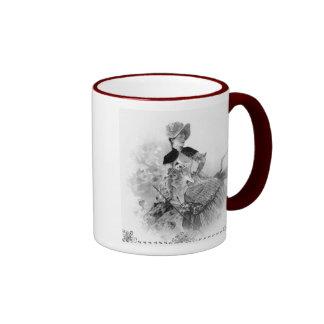 Victorian Era Lady Coffee Mug