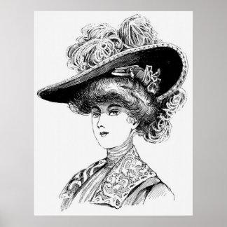 Victorian Era - Portrait of a Lady Poster