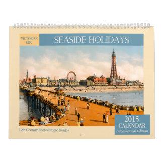 Victorian Era Seaside Holidays 2015 Wall Calendar
