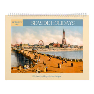 Victorian Era Seaside Holidays Calendar