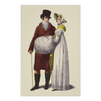 Victorian Era Women's Fashion Poster