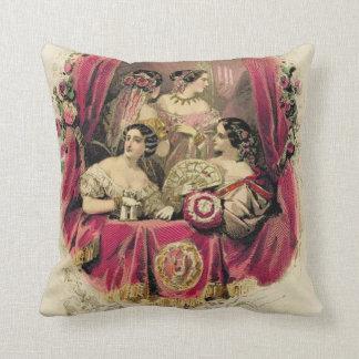 Victorian Era Pillows : Fashion Pillows - Decorative & Throw Pillows Zazzle
