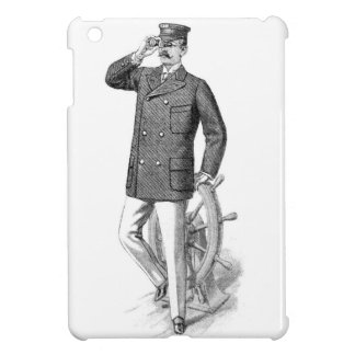 Victorian Etching - The Captain iPad Mini Cover