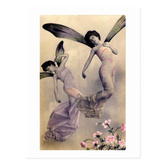 Victorian Fairies Postcard