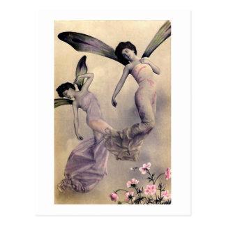 Victorian Fairies Postcard